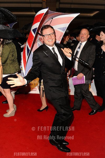 Alan Carr arriving for the 2012 Pride of Britain Awards, at the Grosvenor House Hotel, London. 29/10/2012 Picture by: Steve Vas / Featureflash