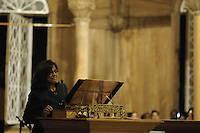 Wonnie Boedhoe, Minister of Finance, Suriname....Official Opening Ceremony of ST. Petrus and Paulus Cathedral (AKA World's largest wooden cathedral)