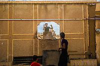 Kachan: muratori al lavoro<br /> workers in Kachan
