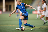 Seattle, WA - Sunday, September 24th, 2017: Megan Rapinoe during a regular season National Women's Soccer League (NWSL) match between the Seattle Reign FC and FC Kansas City at Memorial Stadium.