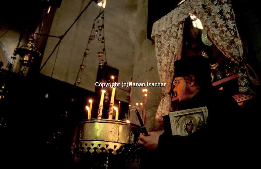 Bethlehem, at the Church of the Nativity&#xA;<br />