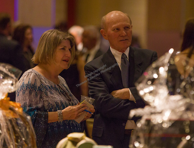 Guests enjoy the Big Chefs Big Gala benefit for the Big Brothers Big Sisters at the Grand Sierra Resort in Reno, NV on Saturday, April 21, 2018.