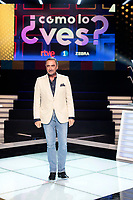 Journalist Carlos Herrera return to public television TVE as conductor of a new program '¿Como lo ves?'. At TVE in Madrid on October 11, 2017.