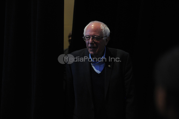 CEDAR RAPIDS, IA - JANUARY 30: Bernie Sanders speaks at a rally at the DoubleTree Convention Center Complex in Cedar Rapids, Iowa on January 30, 2016. Credit: Dennis Van Tine/MediaPunch
