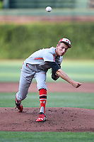 Mike Nikorak (42) of Stroudsburg High School in Stroudsburg, Pennsylvania during the Under Armour All-American Game on August 16, 2014 at Wrigley Field in Chicago, Illinois.  (Mike Janes/Four Seam Images)