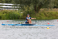 Race: 145  1x (Band 3)  Final<br /> <br /> Peterborough Summer Regatta 2018 - Sunday<br /> <br /> To purchase this photo, or to see pricing information for Prints and Downloads, click the blue 'Add to Cart' button at the top-right of the page.
