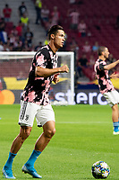 Cristiano Ronaldo of Juventus during the Atletico de Madrid against Juventus Uefa Champions League football match at Wanda Metropolitano stadium in Madrid on September 18, 2019.