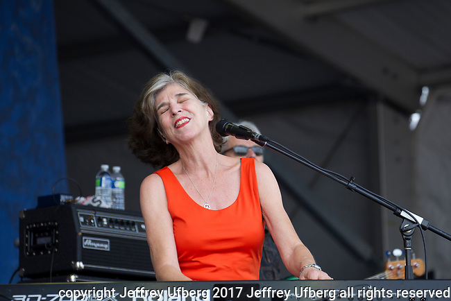 May 4, 2017 New Orleans, La.: Singer/Musician Marcia Ball performs at the New Orleans Jazz *& Heritage Festival on May 4, 2017