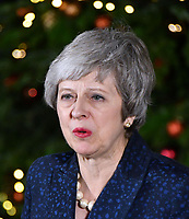 DEC 12 Theresa May wins vote of confidence, London