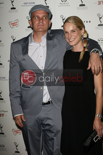 Mike O'Malley and his wife Lisa<br />