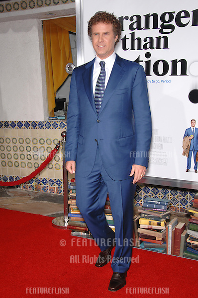 """WILL FERRELL at the Los Angeles premiere of his new movie """"Stranger than Fiction""""..October 30, 2006  Los Angeles, CA.Picture: Paul Smith / Featureflash"""