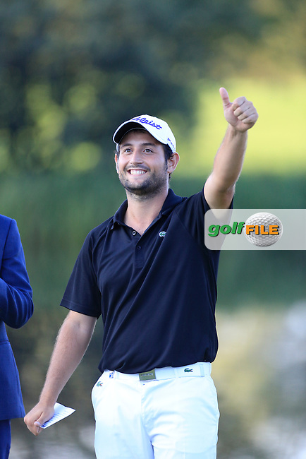 Alexander Levy (FRA)  during the final round of the Porsche European Open, Golf Resort Bad Griesbach, Bad Griesbach, Germany. 25/09/2016<br /> Picture: Golffile | Phil Inglis<br /> <br /> <br /> All photo usage must carry mandatory copyright credit (&copy; Golffile | Phil Inglis)