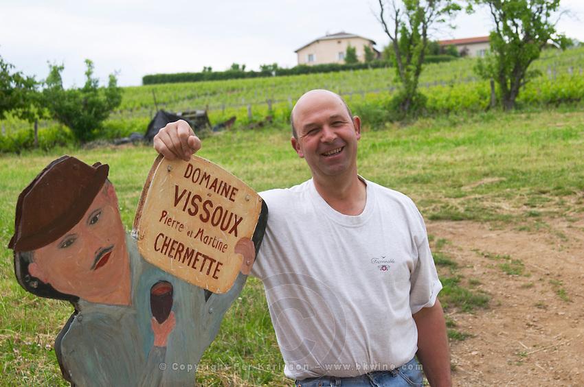 Pierre-Marie Chermette owner domaine du vissoux beaujolais burgundy france