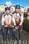LEESTRAND: Peter Landy and JP O'Connell who represented Lee Strand in the Matt lacey Cycle Race on the Tralee-Dingle Road on Sunday.................................. ....