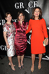 Kristin Caskey, Debbi Bisno and Paula Wagner attending the Opening Night Performance of 'Grace' at the Cort Theatre in New York City on 10/4/2012.