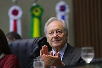 MANAUS, AM, 17.05.2019: LEWANDOWSKI-MANAUS. Ricardo Lewandowski, Ex-presidente do Supremo Tribunal Federal (2014 a 2016), recebeu na manhã desta sexta-feira (17), o título de Cidadão do Amazonas, na Assembleia Legislativa do Estado (ALE-AM). <br /> Foto: Sandro Pereira/Codigo19