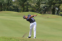 Shahriffuddin Ariffin (MAS) in action on the 2nd during Round 1 of the Maybank Championship at the Saujana Golf and Country Club in Kuala Lumpur on Thursday 1st February 2018.<br /> Picture:  Thos Caffrey / www.golffile.ie<br /> <br /> All photo usage must carry mandatory copyright credit (&copy; Golffile | Thos Caffrey)