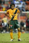 17 July 2004: Hong Myung-Bo. Los Angeles Galaxy tied DC United 1-1 at RFK Stadium in Washington, DC during a regular season Major League Soccer game..