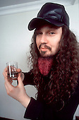 Pantera - Dimebag Darrell Abbott of Pantera- photosession in London UK  - 01 May 1996. <br />  Photo credit: George Chin/IconicPix