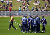151129 Twenty20 Cricket - Wellington Firebirds v Auckland Aces