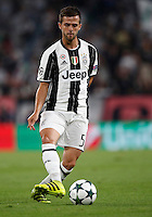 Calcio, Champions League: Juventus vs Siviglia: Torino, Juventus Stadium, 14 settembre 2016. <br /> Juventus' Miralem Pjanic in action during the Champions League Group H football match between Juventus and Sevilla at Turin's Juventus Stadium, 16 September 2016.<br /> UPDATE IMAGES PRESS/Isabella Bonotto