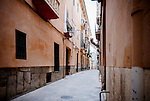 Alleyway in Palma de Mallorca, Spain