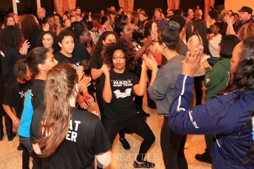 January 19th, 2016-  MLK Soul of the Nation at Seattle University