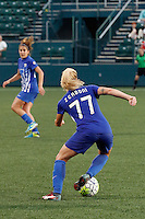 Rochester, NY - Friday May 27, 2016: Boston Breakers midfielder McCall Zerboni (77). The Western New York Flash defeated the Boston Breakers 4-0 during a regular season National Women's Soccer League (NWSL) match at Rochester Rhinos Stadium.
