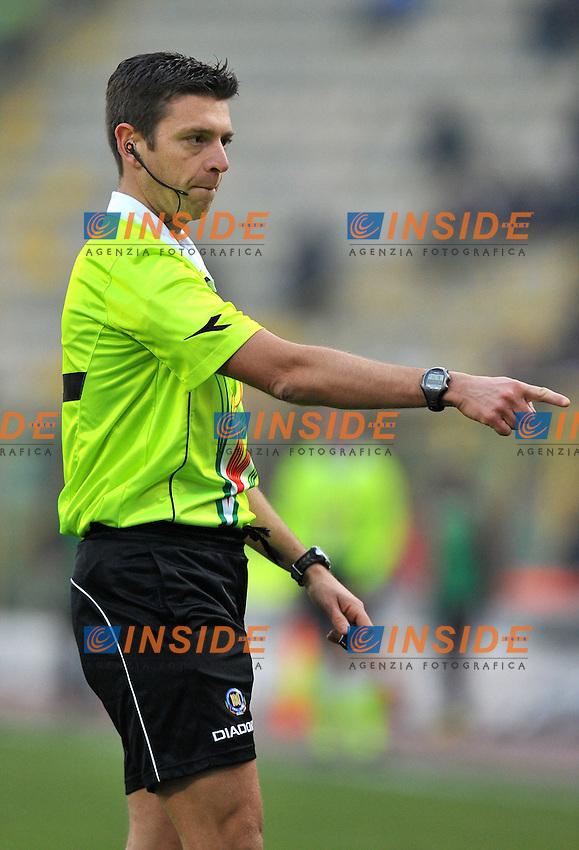 "Gianluca ROCCHI.Bologna 11/12/2011 Stadio ""Renato Dall Ara"".Serie A 2011/2012.Football Calcio Bologna Vs Milan.Foto Insidefoto Alessandro Sabattini."