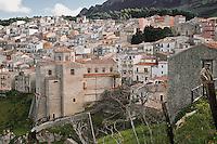 Gratteri paesino nel cuore del parco delle Madonie in Sicilia.<br /> Gratteri, a village located within the area of  Madonie Regional Natural Park