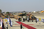 Israel, Pope Francis arrives to the Welcoming Ceremony at Ben Gurion Airport