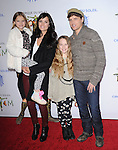 Jamie Alexander and Peter Facinelli with peter's kids attend Totem from Cirque du Soleil Premiere at Santa Monica Pier in Santa Monica, California on January 21,2014                                                                               © 2014 Hollywood Press Agency