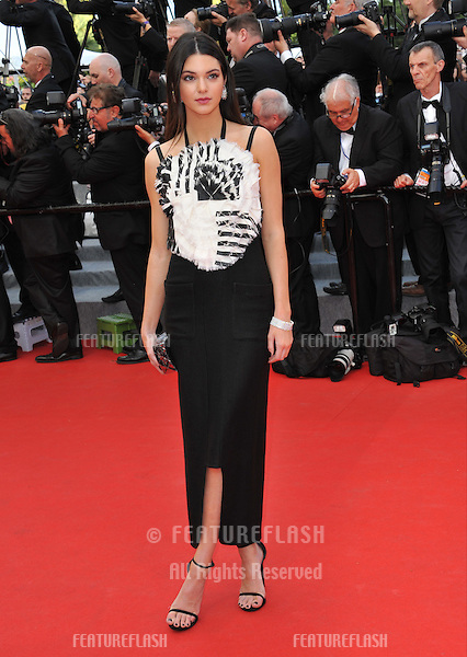 Kendall Jenner at the gala premiere of &quot;Grace of Monaco&quot; at the 67th Festival de Cannes.<br />