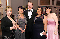 Micheline Corr, Maria Logan, Peter Keehan, Ines Guerra and Mary Flannery at the Irish Hotels Federation Conference Gala Dinner in The Malton Hotel, Killarney on Tuesday night. Picture: MacMonagle, Killarney