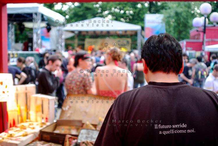 Segrate (Milano). Festval musicale MIAMI 2009, al circolo Magnolia. Il futuro sorride a quelli come noi (Diaframma) --- Segrate (Milan). Music festival MIAMI 2009. Future smiles to those like us