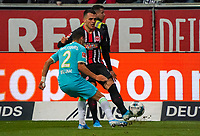 Filip Kostic (Eintracht Frankfurt) gegen William (VfL Wolfsburg) - 23.11.2019: Eintracht Frankfurt vs. VfL Wolfsburg, Commerzbank Arena, 12. Spieltag<br /> DISCLAIMER: DFL regulations prohibit any use of photographs as image sequences and/or quasi-video.
