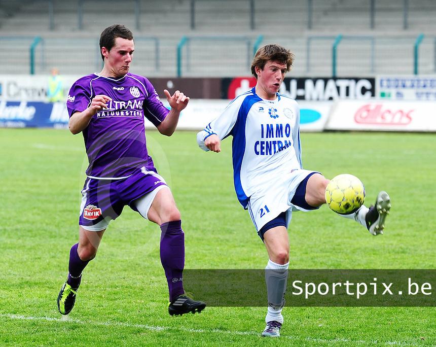 SW Harelbeke - FC Knokke : .foto VDB / Bart Vandenbroucke