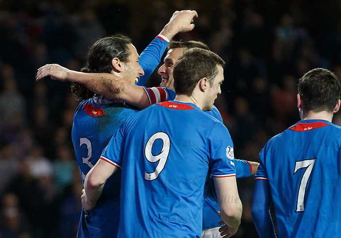Bilel Mohsni celebrates his goal with Jig