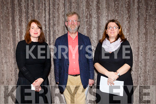 At the Kerry School of Music Concert in the rose Hotel on Sunday were Anna Connolly, Aidan O'Carroll and Ermelinda Qejvani