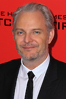 "NEW YORK, NY - NOVEMBER 20: Francis Lawrence at the New York Premiere Of Lionsgate's ""The Hunger Games: Catching Fire"" held at AMC Lincoln Square Theater on November 20, 2013 in New York City. (Photo by Jeffery Duran/Celebrity Monitor)"