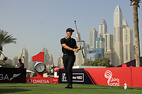 Thorbjorn Olesen (DEN) in action during the third round of the Omega Dubai Desert Classic, Emirates Golf Club, Dubai, UAE. 26/01/2019<br /> Picture: Golffile | Phil Inglis<br /> <br /> <br /> All photo usage must carry mandatory copyright credit (© Golffile | Phil Inglis)