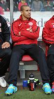 FUSSBALL  1. BUNDESLIGA  SAISON 2011/2012  29. Spieltag   07.04.2012 VfB Stuttgart - 1. FSV Mainz Mohamed Zidan (1. FSV Mainz 05) zu Spielbeginn nur auf der Ersatzbank