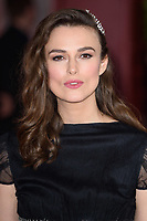 "Keira Knightley<br /> arriving for the premiere of ""The Aftermath"" at the Picturehouse Central, London<br /> <br /> ©Ash Knotek  D3479  18/02/2019"