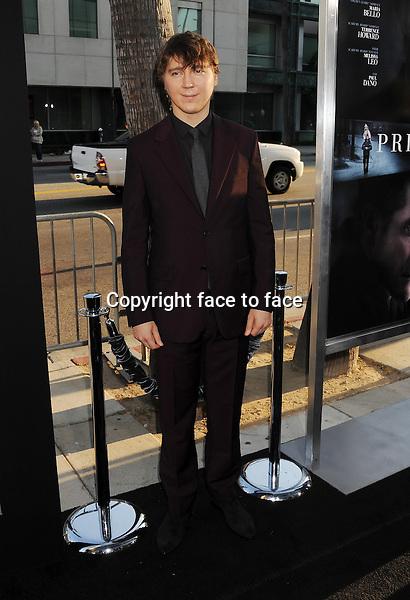 BEVERLY HILLS, CA- SEPTEMBER 12: Actor Paul Dano arrives at the 'Prisoners' - Los Angeles Premiere at the Academy of Motion Picture Arts and Sciences on September 12, 2013 in Beverly Hills, California.<br />