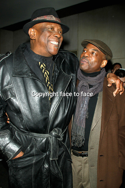 Louis Gossett Jr. and LeVar Burton seen at NBC's Today Show in New York City. February 4, 2013. ..Credit: MediaPunch/face to face..- Germany, Austria, Switzerland, Eastern Europe, Australia, UK, USA, Taiwan, Singapore, China, Malaysia and Thailand rights only -