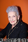 Head and shoulders of Margaret Dwyer on her 90th Birthday.....................   Copyright Kerry's Eye 2008