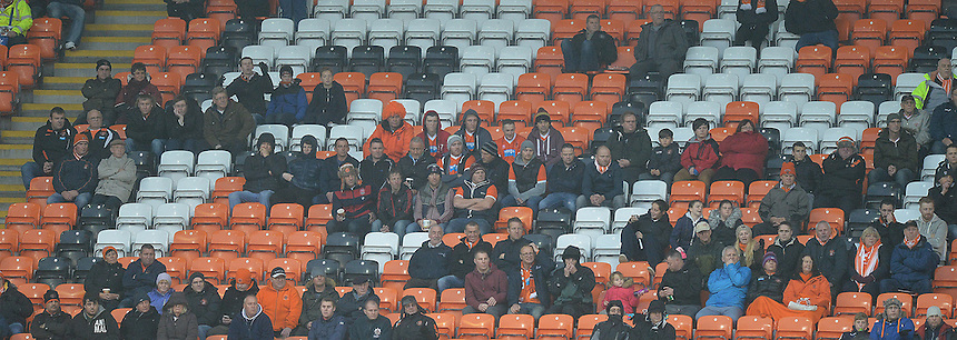 Fans<br /> <br /> Photographer Dave Howarth/CameraSport<br /> <br /> Football - The Football League Sky Bet League One - Blackpool v Doncaster Rovers - Saturday 14th November 2015 -   Bloomfield Road - Blackpool<br /> <br /> &copy; CameraSport - 43 Linden Ave. Countesthorpe. Leicester. England. LE8 5PG - Tel: +44 (0) 116 277 4147 - admin@camerasport.com - www.camerasport.com