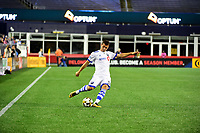 September 9, 2017 - Foxborough, Mass: Montreal Impact midfielder Blerim Dzemaili (31) passes the ball during the MLS game between the Montreal Impact and the New England Revolution held at Gillette Stadium in Foxborough Massachusetts. Revolution defeat Impact 1-0. Eric Canha/CSM