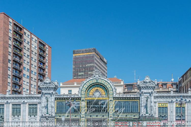 Spain, Bilbao, Abando Train Station