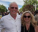 Dan and Joy Norem during the 48th Annual Nevada Athletics Governor's Dinner at the Governor's Mansion  in Carson City on  Friday, July 8, 2016.
